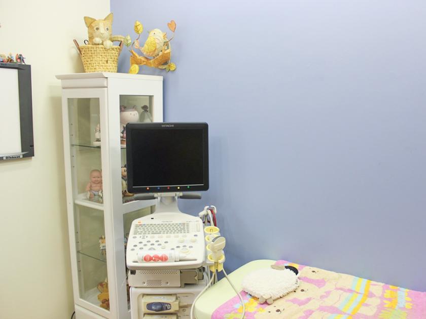 診察室の設備